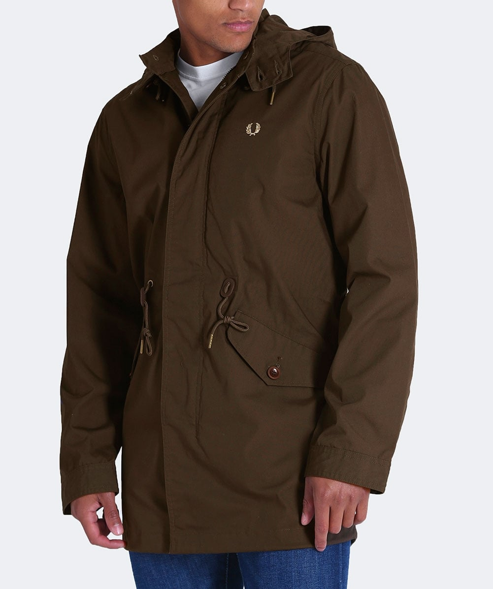 Fred Perry Wren Fishtail Parka  634ffd2e784