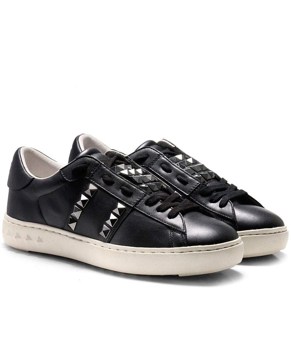 Ash Studded Leather Party Trainers