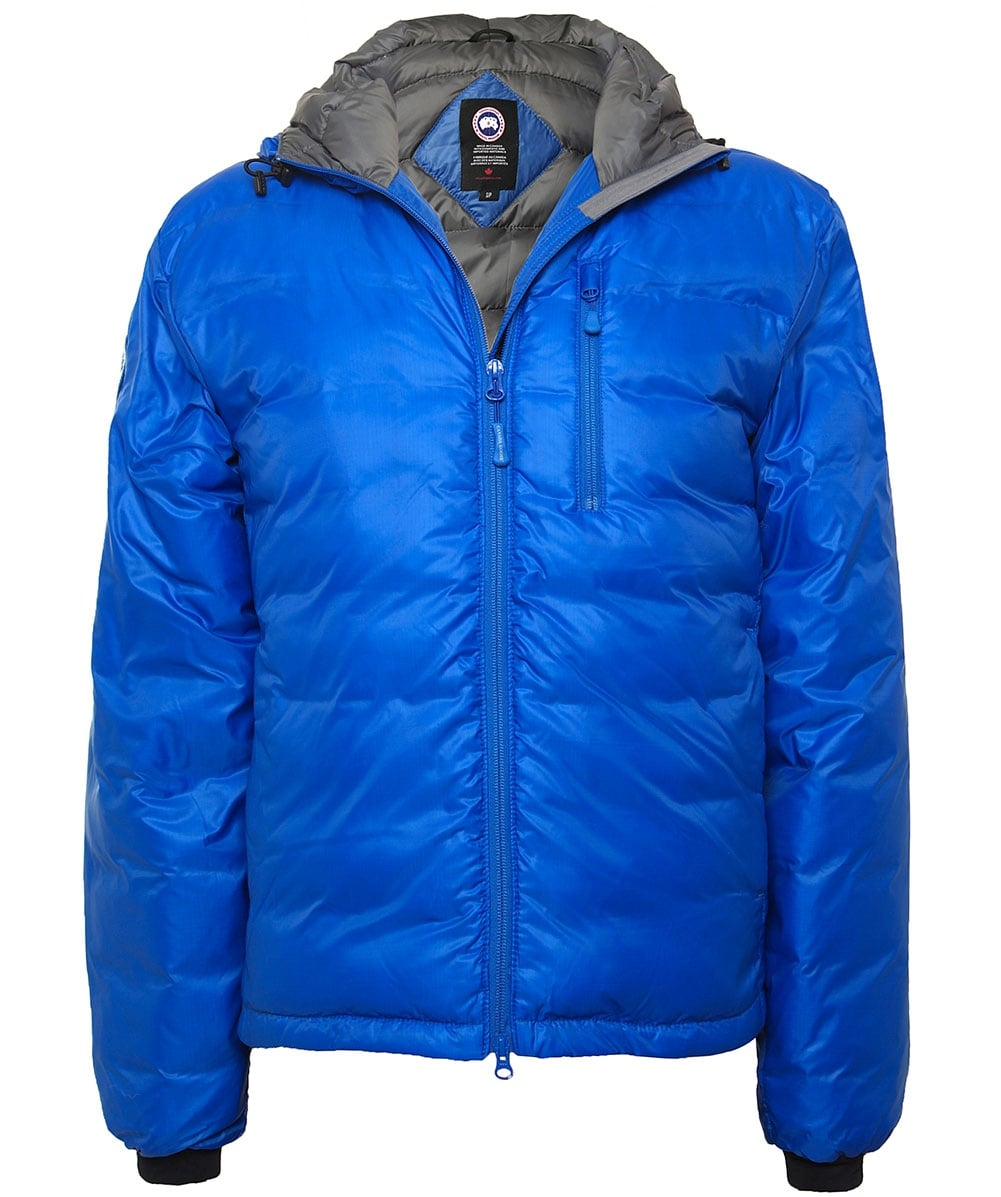 Canada Goose Royal Blue Lodge Hoody Down Jacket  13ed87528