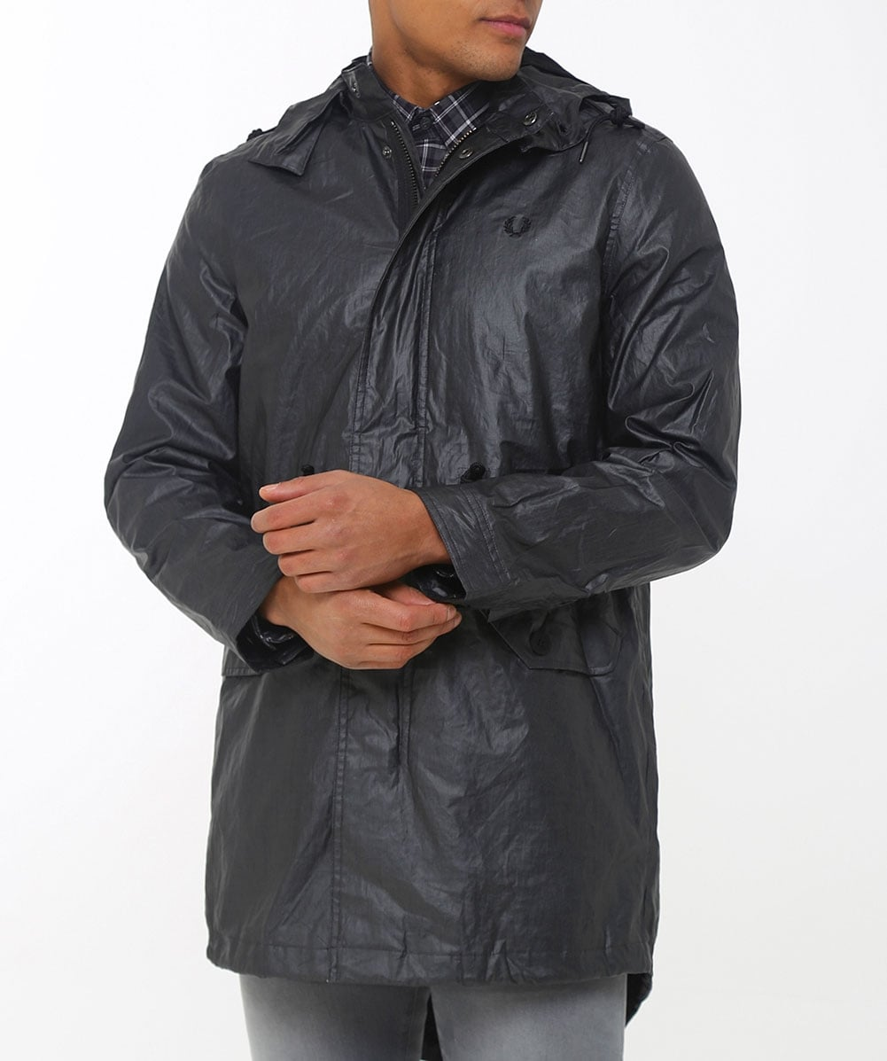 Fred Perry Coated Fishtail Parka