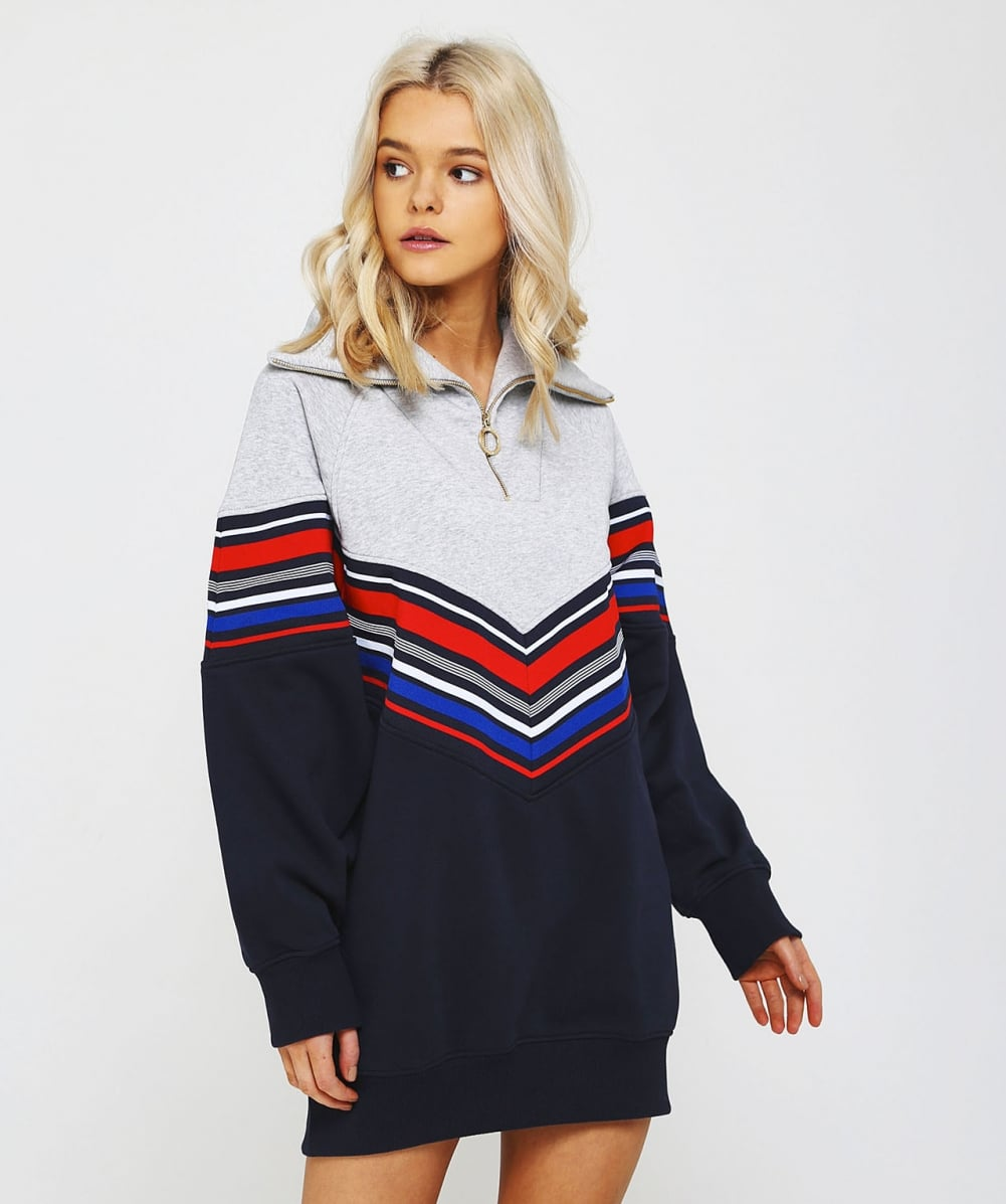 002005e65c9 Tommy x Gigi Gigi Hadid Racing Jumper Dress