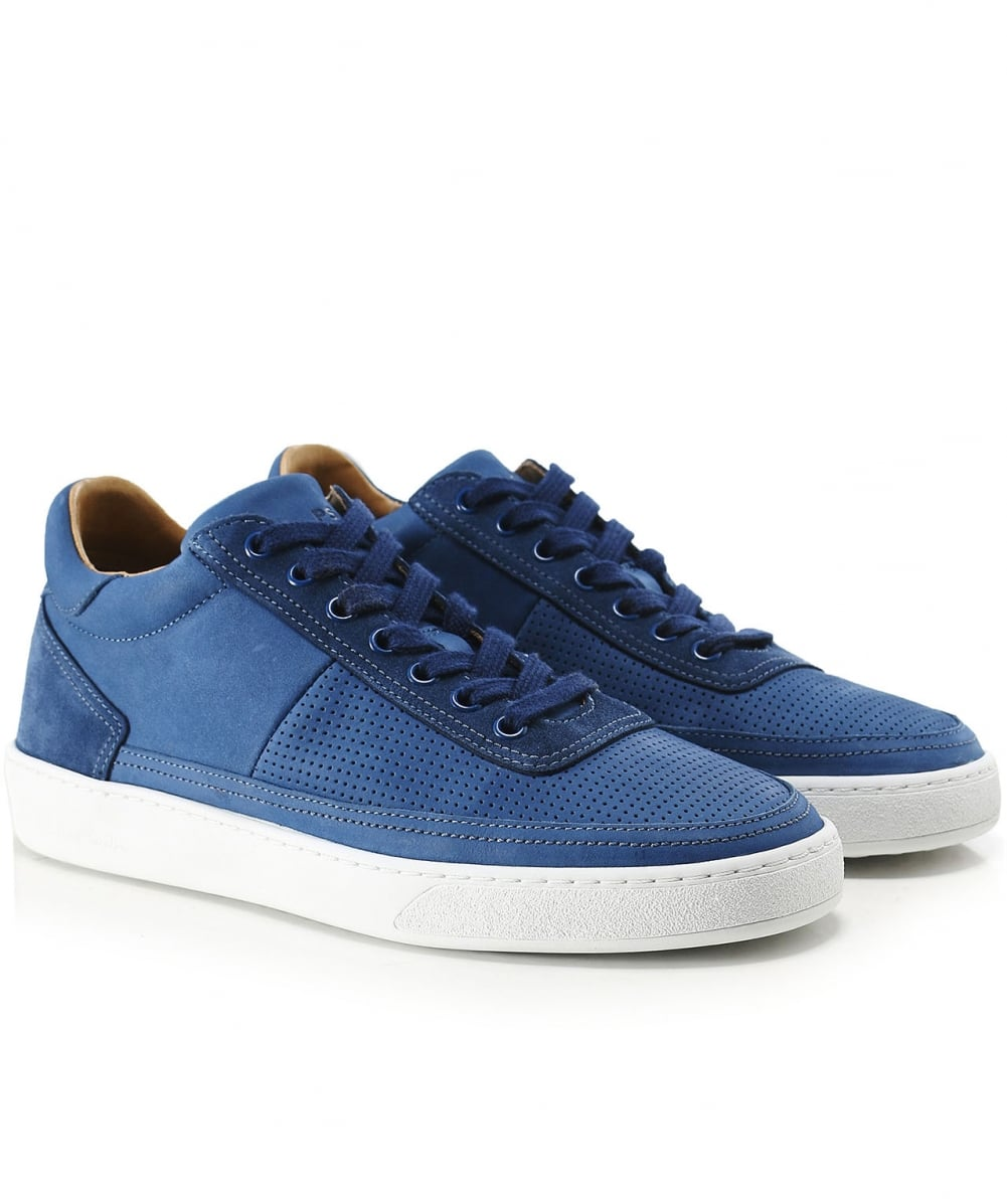 PS by Paul Smith Navy Leather Dizon