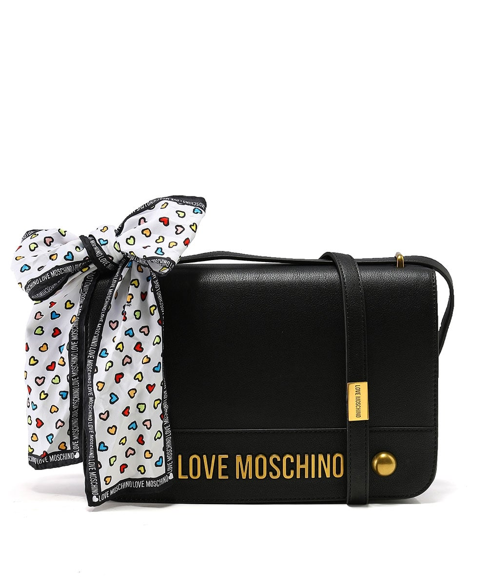 Love Moschino Scarf Tie Shoulder Bag