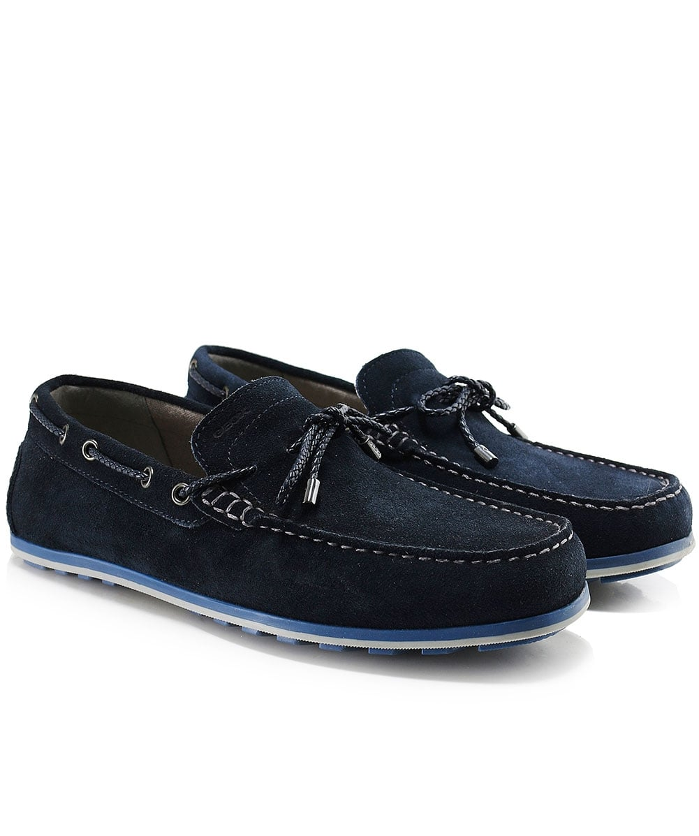 Geox Suede Mirvin Boat Shoes  5f2b08ae211