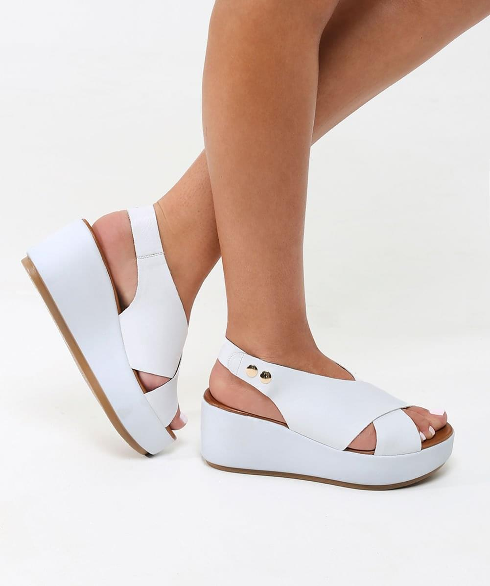 Inuovo Crossover Slingback Sandals