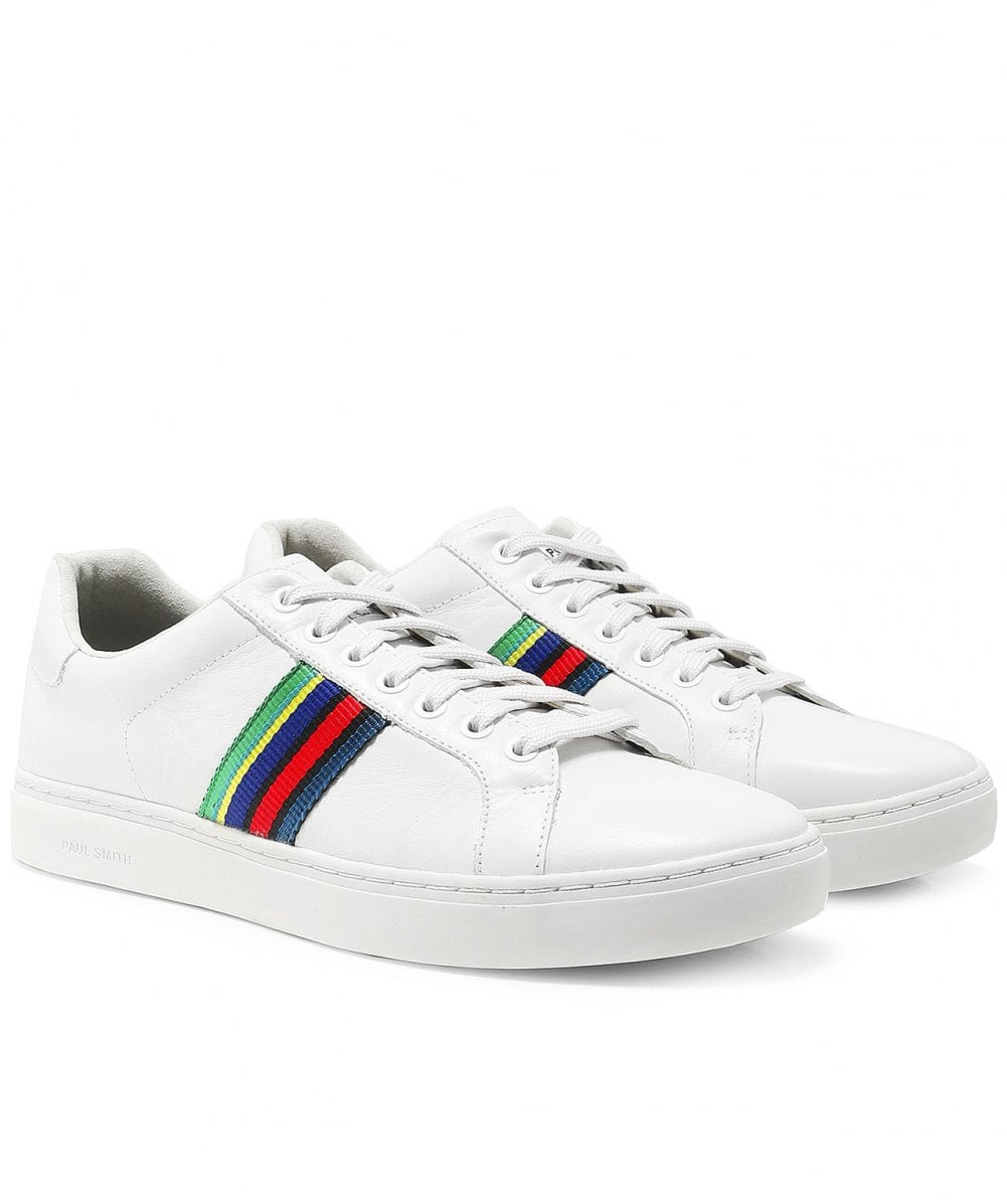 PS by Paul Smith White Leather Lapin