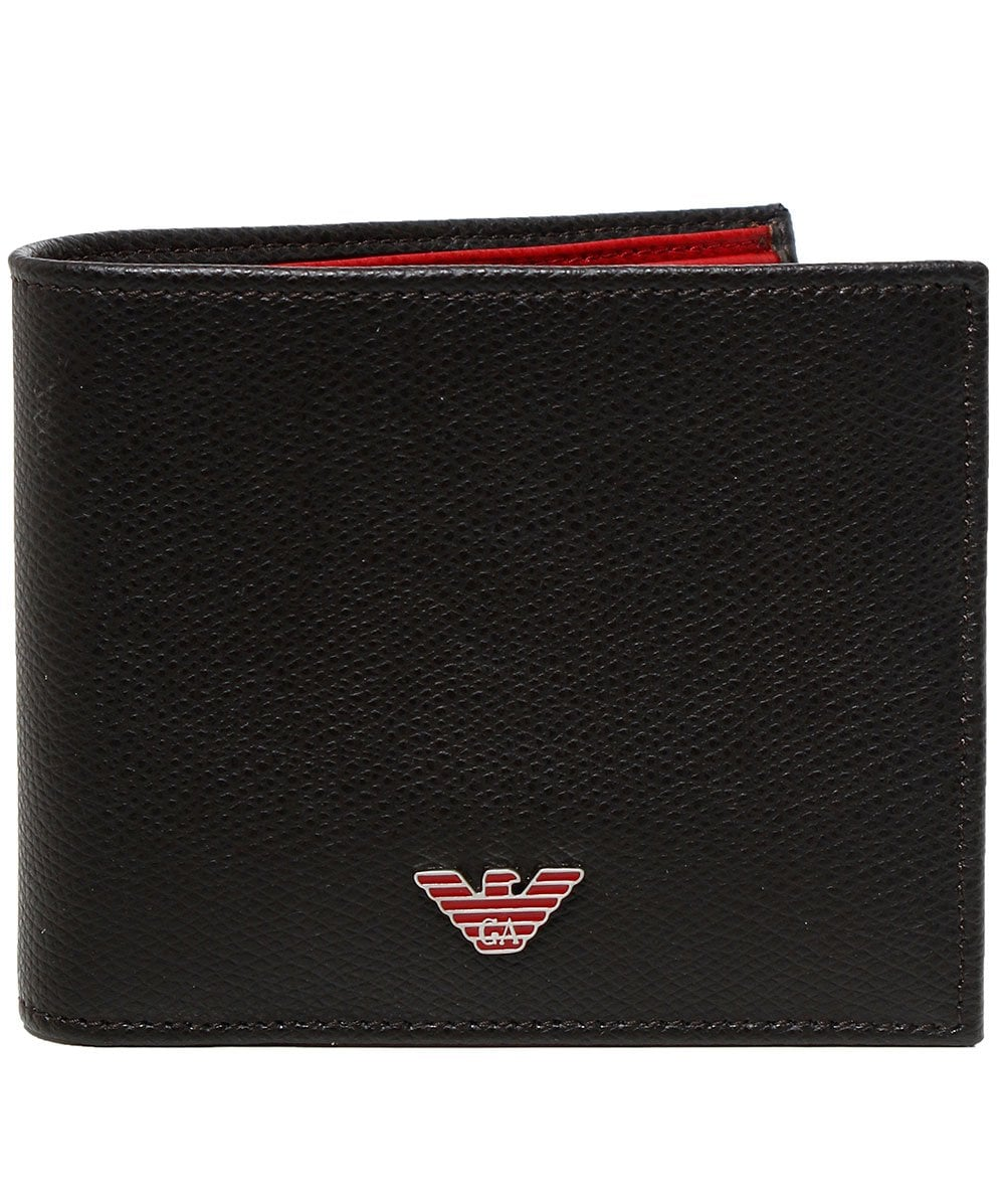 2e302d9334 Armani Tumbled Leather Wallet