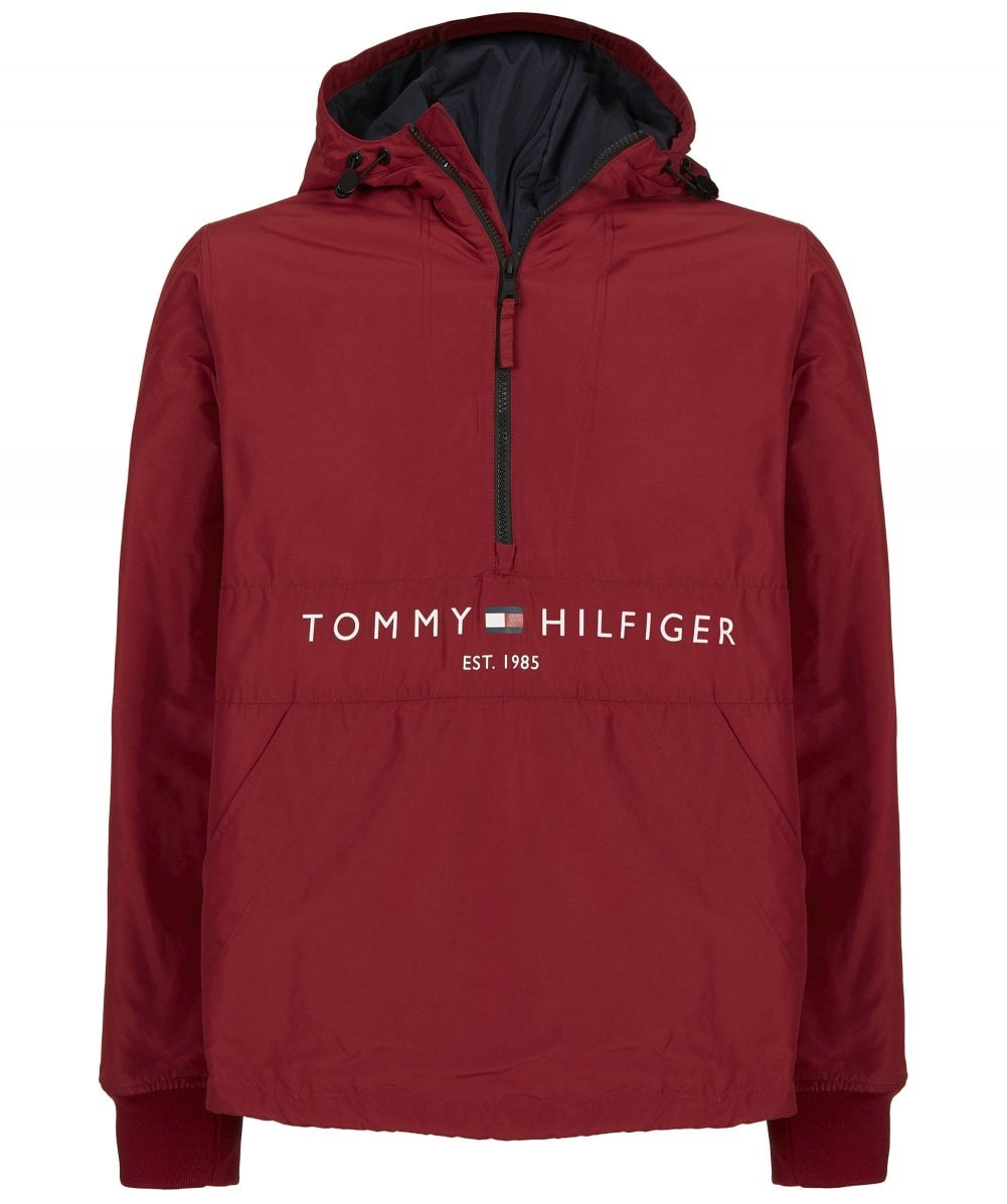 032fa8f73fa56 Tommy Hilfiger Red Padded Anorak
