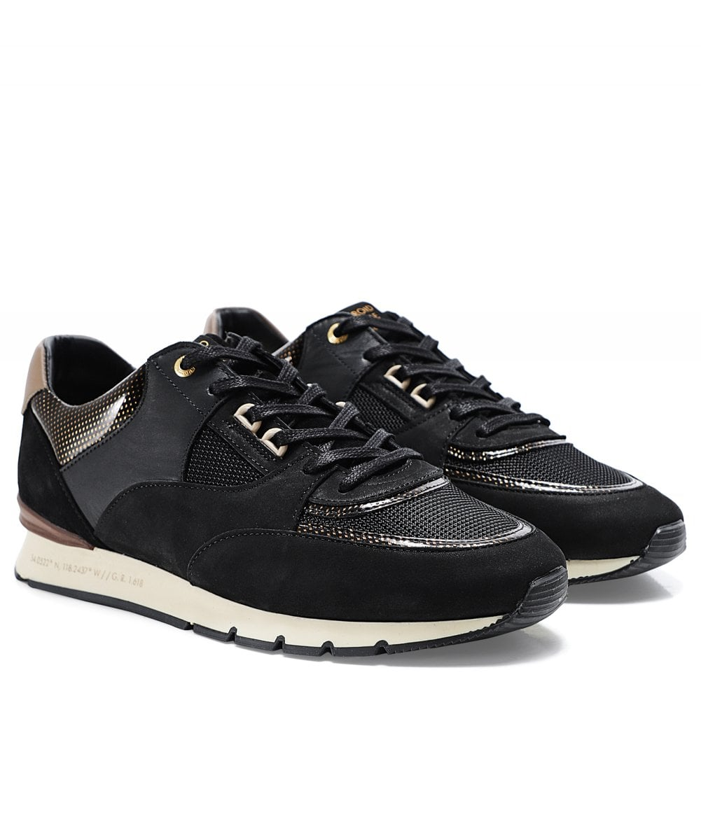 Gloss Carbon Belter 2.0 Trainers   Jules B