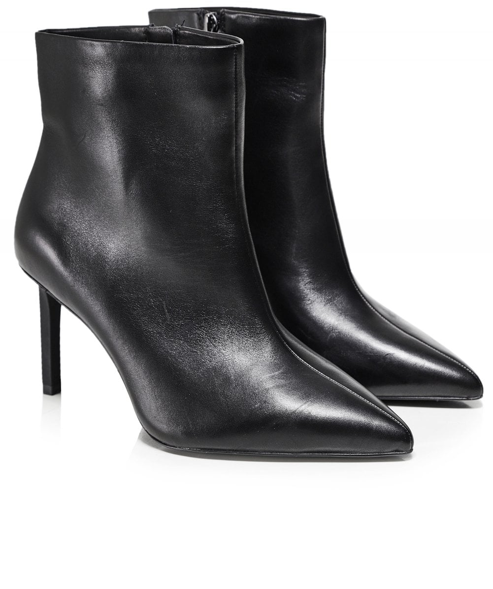 release date new concept cheap for sale Leather Bianca Ankle Boots