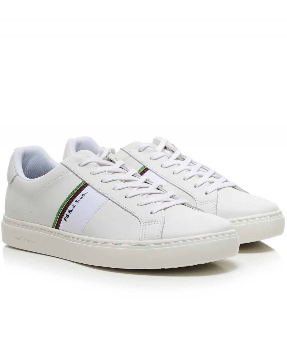 PS by Paul Smith White Leather Rex