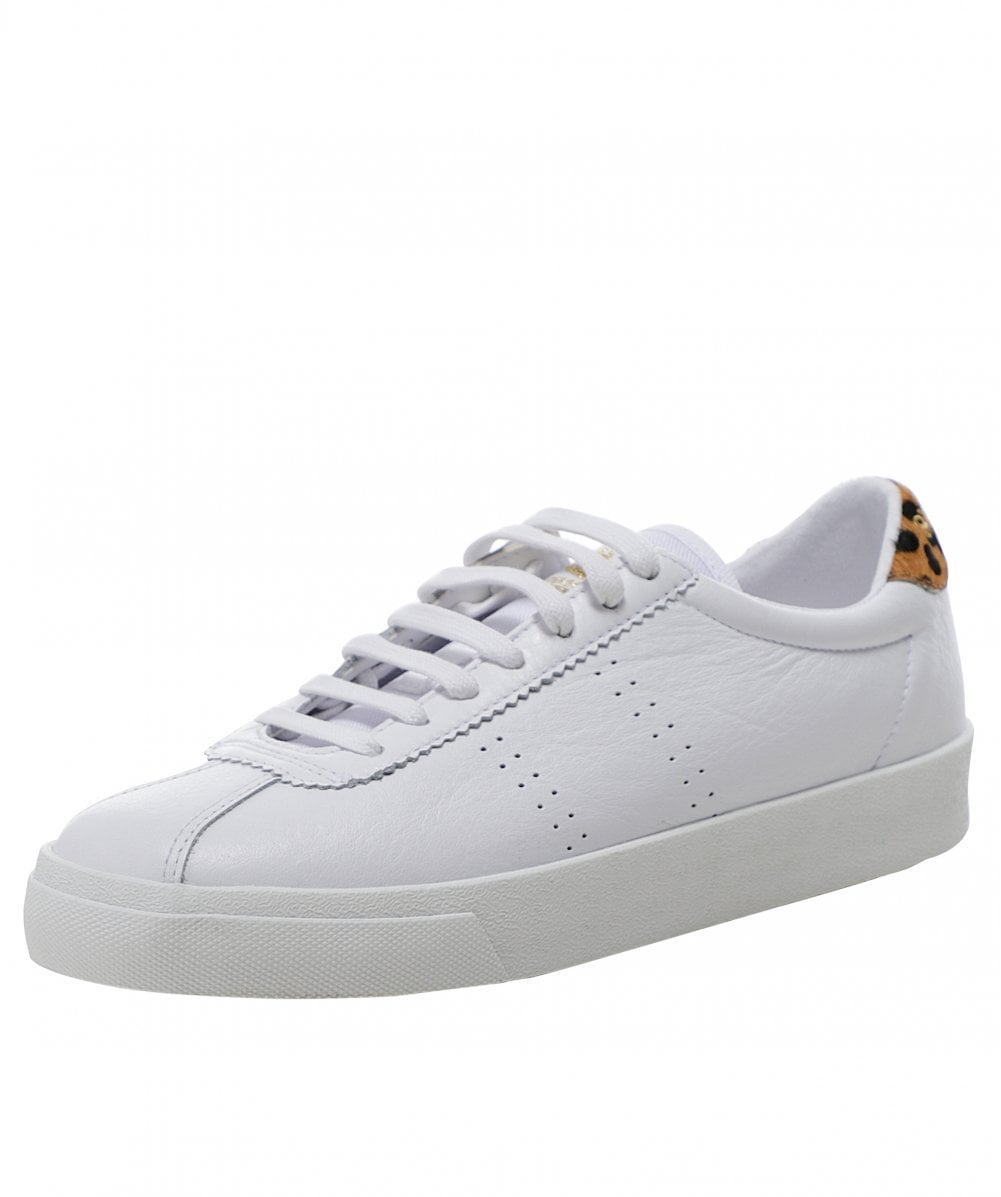 2843 Club S Leather Trainers   Jules B