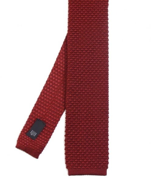 Ascot Accessories Plain Knitted Tie
