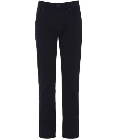 Jacob Cohen Regular Fit Dark Wash Jeans