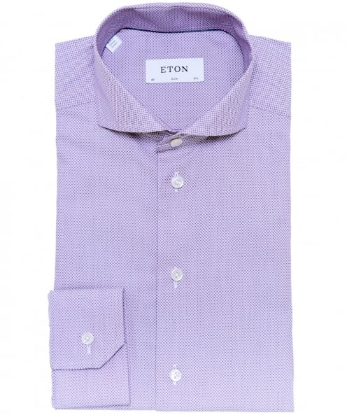 Eton Slim Fit Warwick Satin Shirt