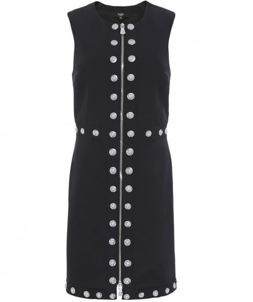 Versus Versace Studded Racer Back Dress