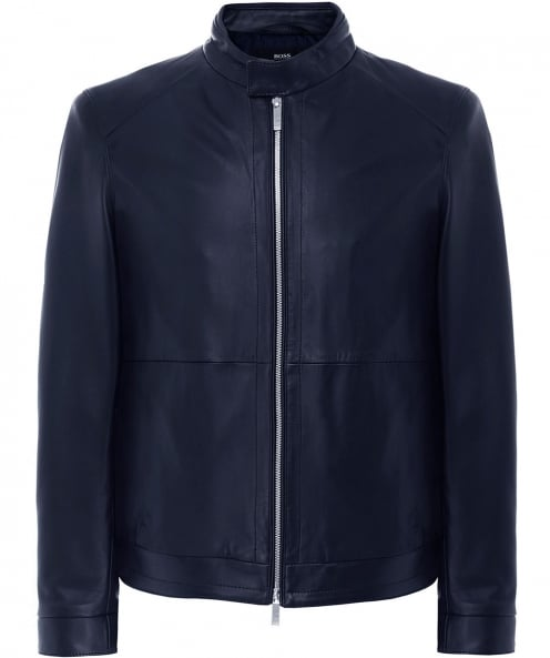 BOSS Leather Nartimo Jacket