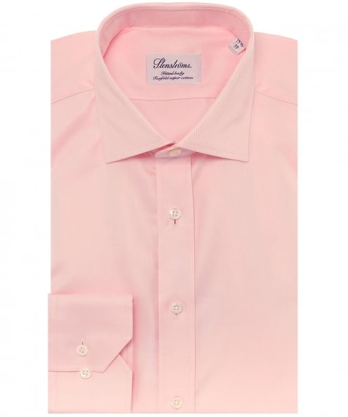 Stenstroms Fitted Plain Shirt