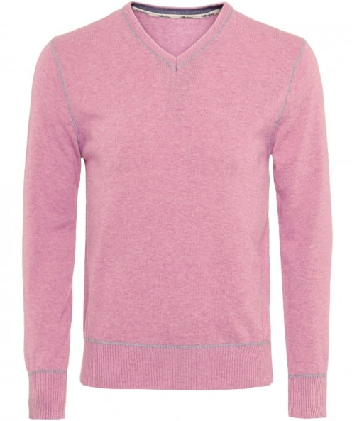 Stenstroms Cashmere Blend V-Neck Jumper