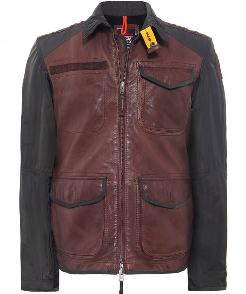 Parajumpers Roof Leather Jacket