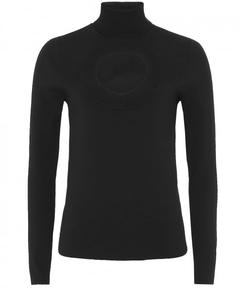 Solace London Salma Polo Neck Top