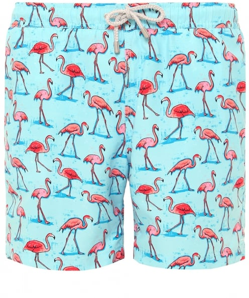 Bluemint Mid Length Arthur Flamingo Swim Shorts