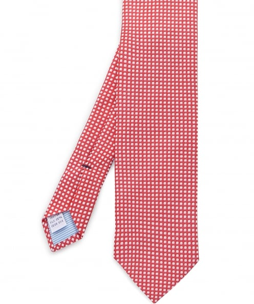 Stenstroms Silk Circle Print Tie