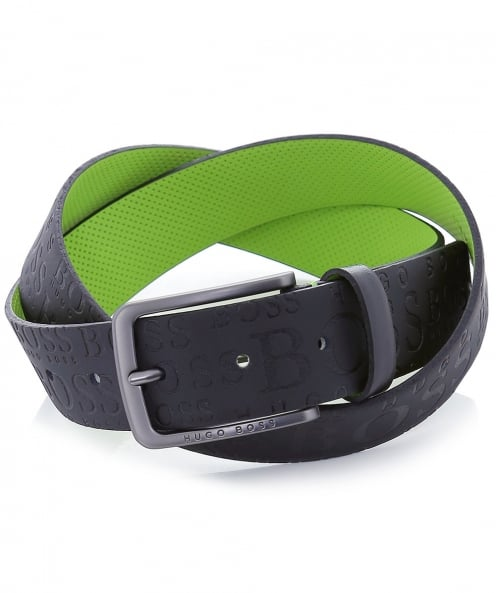 BOSS Green Leather Toga_Sz35_ltlg Belt