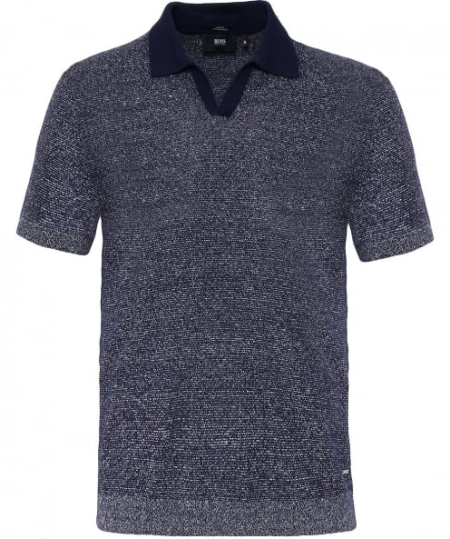 BOSS Linen Blend Orenzo Polo Shirt