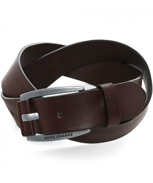 BOSS Bakaba Leather Belt