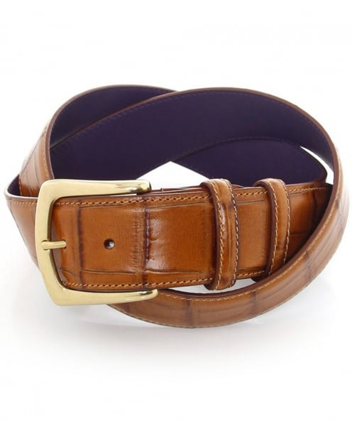 Elliot Rhodes Mock Croc Belt