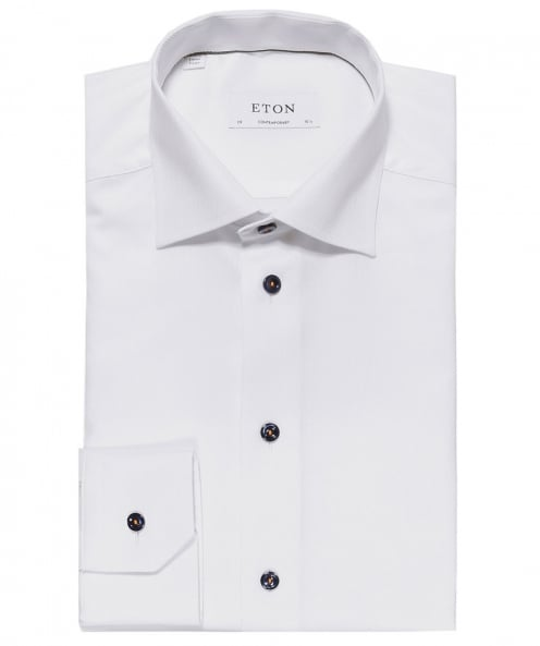 Eton Contemporary Fit Textured Shirt