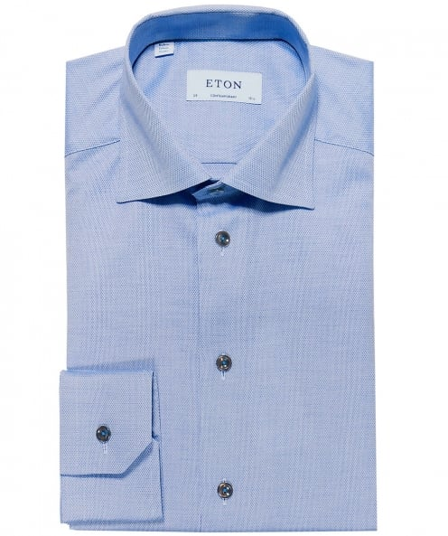 Eton Contemporary Fit Dobby Shirt
