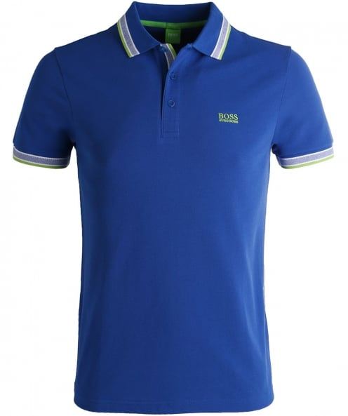 BOSS Green Regular Fit Tipped Paddy Polo Shirt
