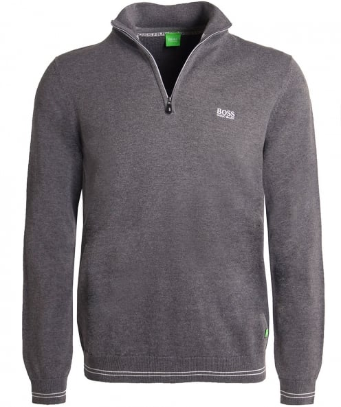 BOSS Green Half-Zip Zime_W17 Jumper