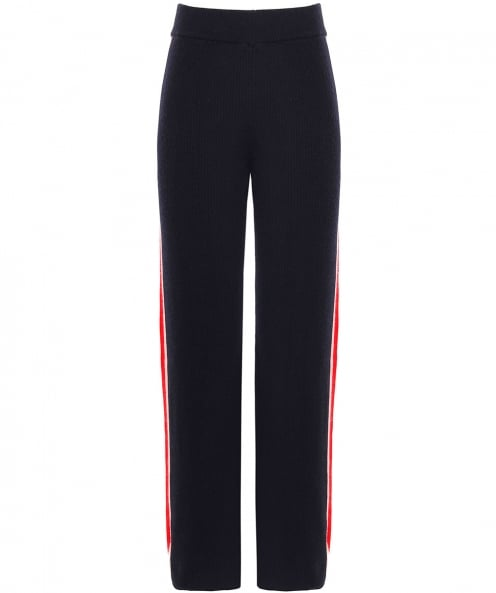 Chinti & Parker Cashmere Striped Trousers