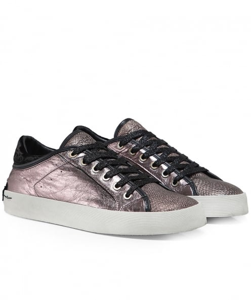 Crime London Faith Python Effect Low Top Trainers