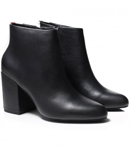 Senso Leather Jensen Contrast Stripe Boots