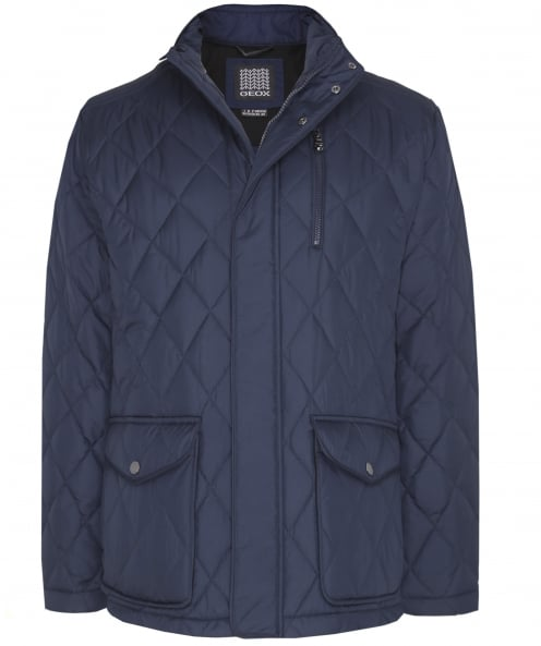Geox Water Repellent Quilted Jacket