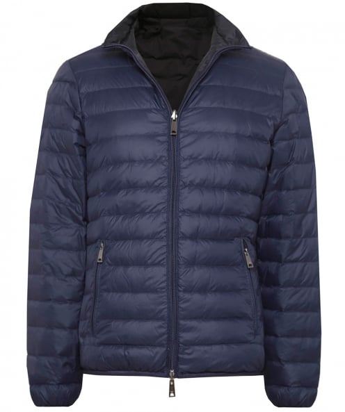 Armani Jeans Reversible Down Baffle Jacket