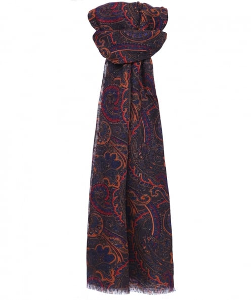 Ascot Accessories Wool Patterned Scarf