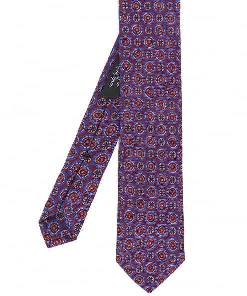 Ascot Accessories Patterned Silk Tie