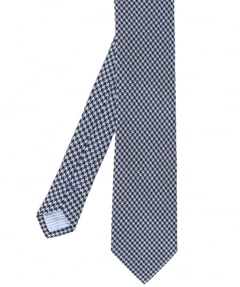 Stenstroms Houndstooth Silk Tie