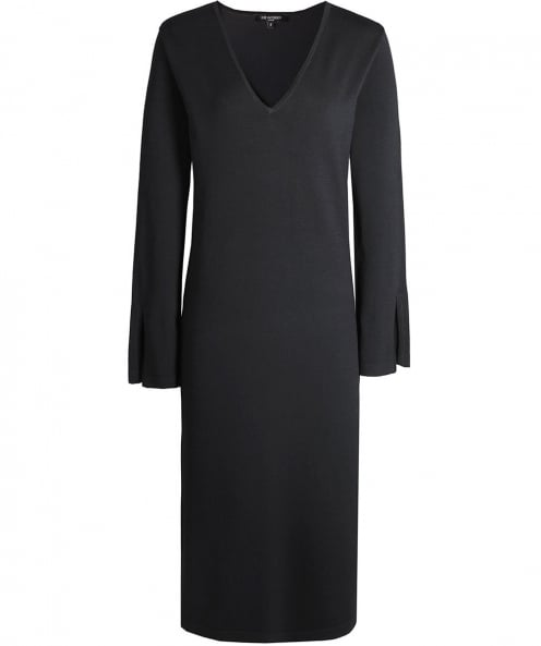 Ilse Jacobsen Knitted Abba V-Neck Dress