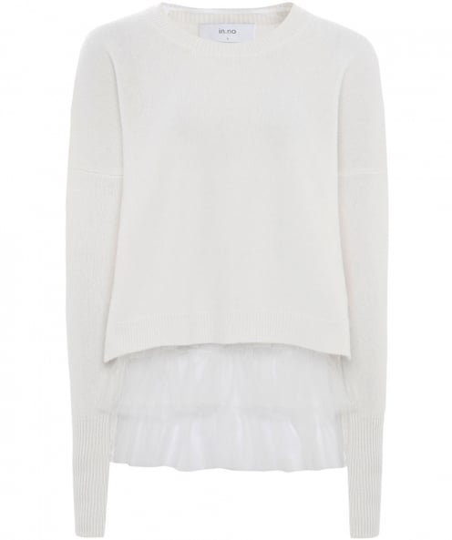 In.No Wool Blend Opera Tulle Jumper