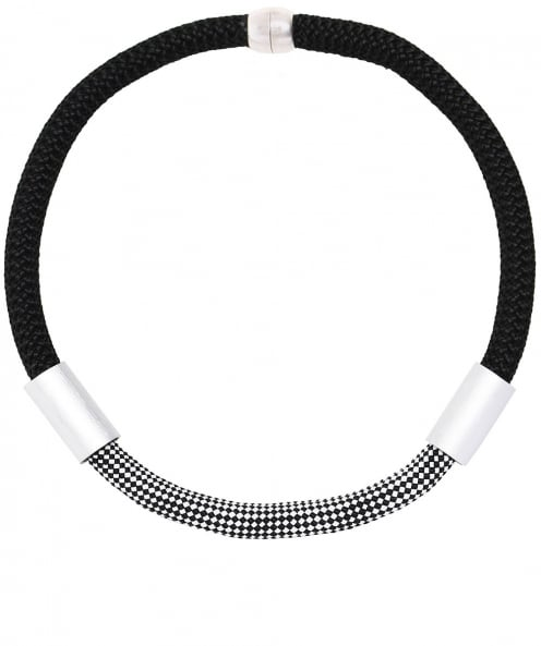 Christina Brampti Single Rope Tube Necklace