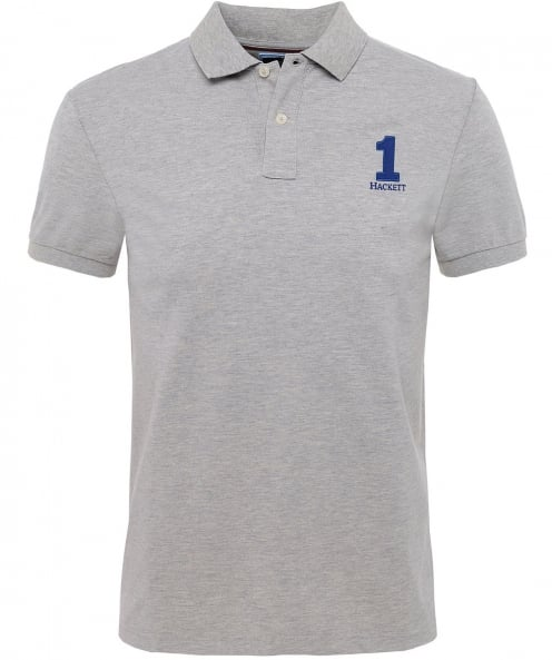 Hackett Classic Fit Numbered Polo Shirt