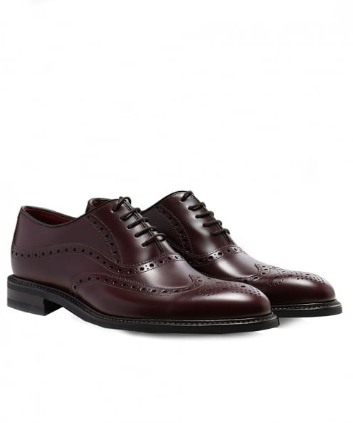 Loake Leather Demon Oxford Brogues
