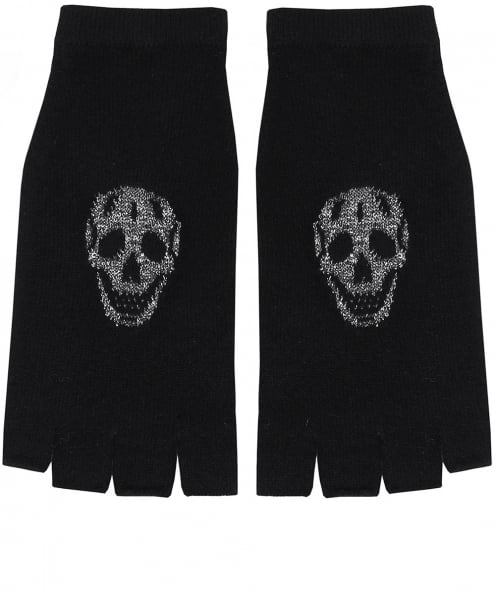 360 Sweater Cashmere Xena Skull Gloves