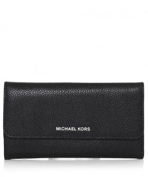 MICHAEL Michael Kors Leather Trifold Mercer Purse